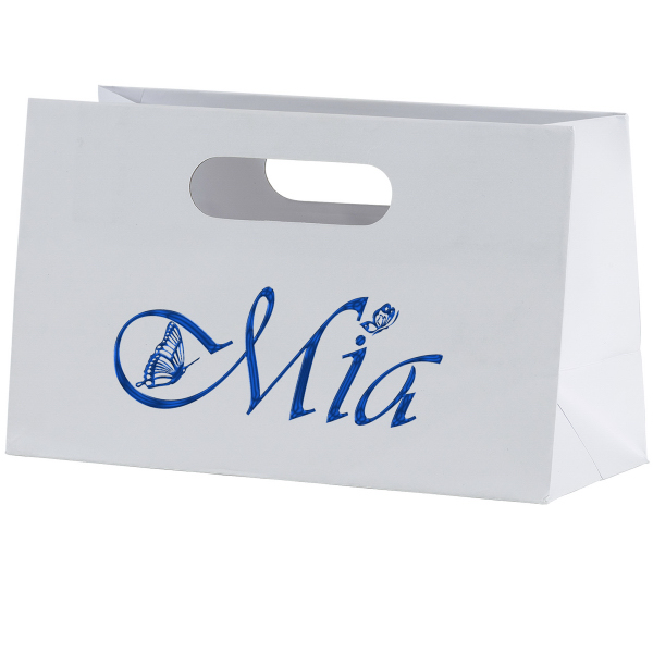 Mia Boutique Die Cut Shopper Laminated Bag