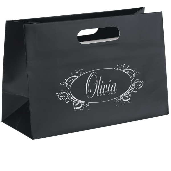 Olivia Boutique Die Cut Shopper