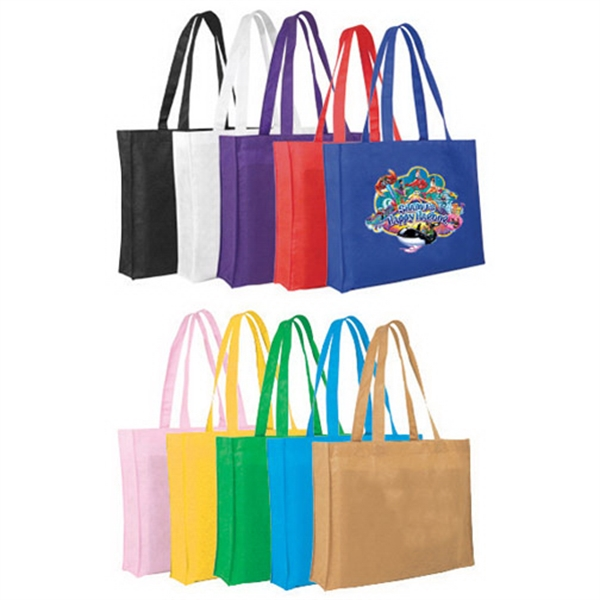 Non-Woven Tote Bag, Full Color Digital