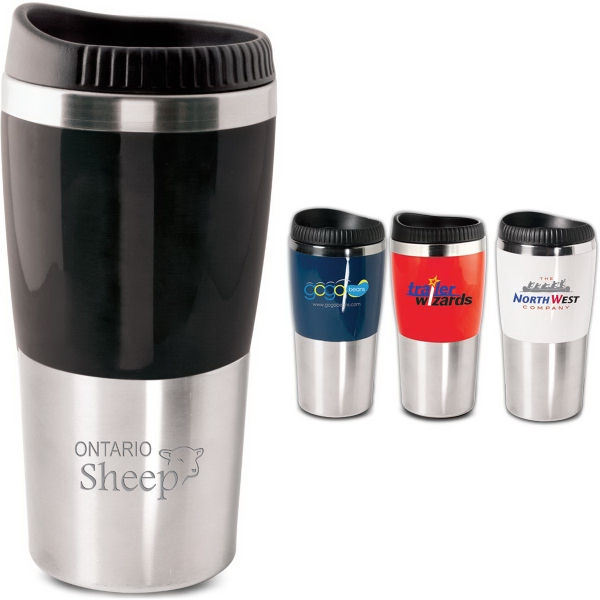 The Style 16 Oz Tumbler With Designer Safety Lid