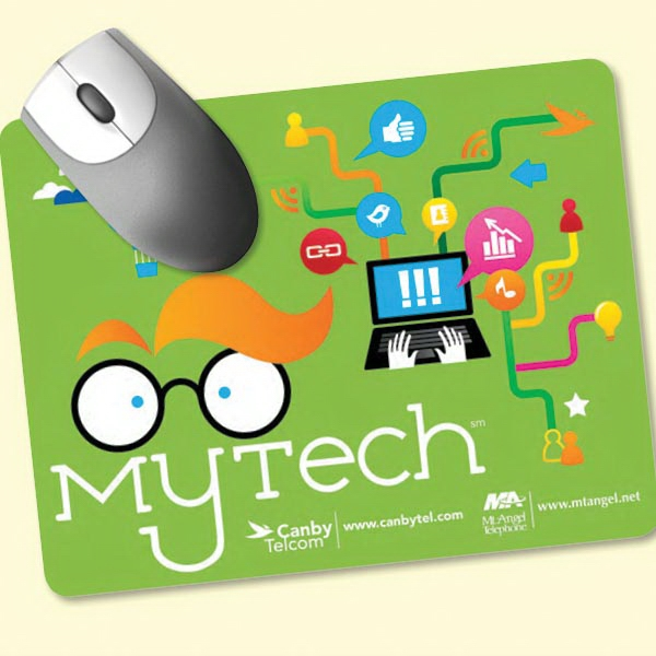 "Origin'L Fabric(R) 7""x9""x3/16"" Antimicrobial Mouse Pad"