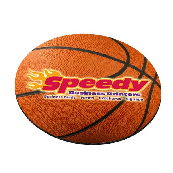 Standard Shape Mousepad - Basketball