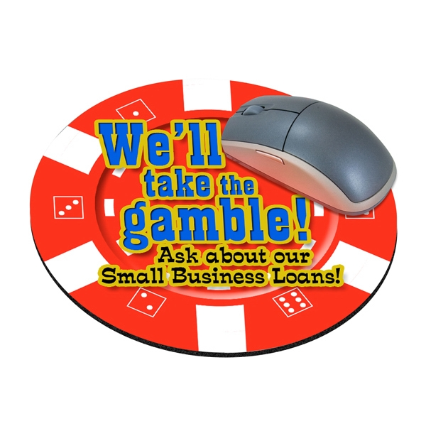 Standard Shape Mousepad - Casino Chip