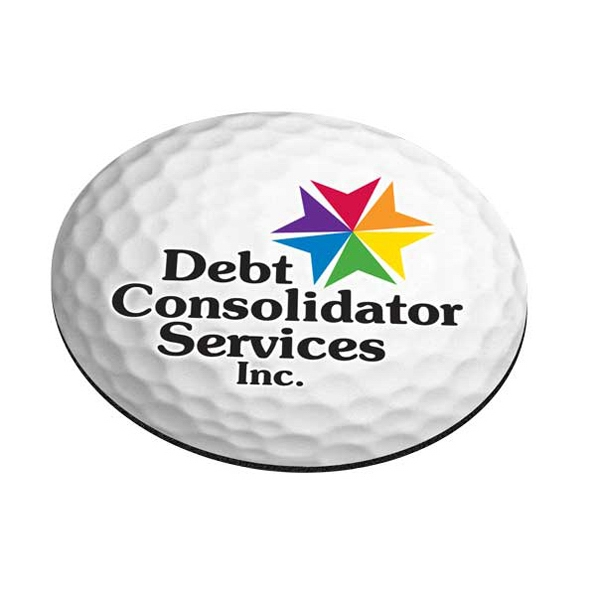 Standard Shape Mousepad - Golf Ball