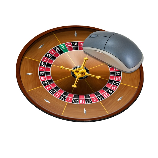 Standard Shape Mousepad - Roulette Wheel
