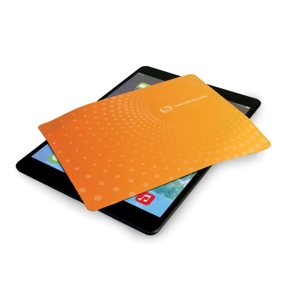 Travel Soft (TM) Small Microfiber Mouse Pad & Cleaning Cloth