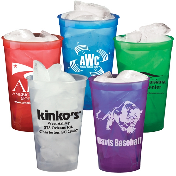 22 oz. Stadium Cups - Translucent Colors Mega Deal