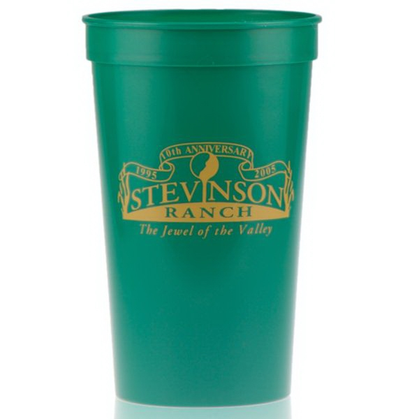 22 oz Stadium Cup - Green