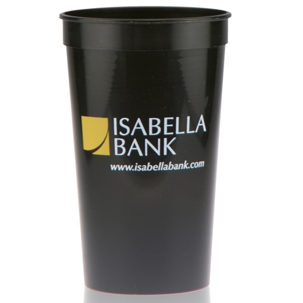 22 oz Stadium Cup - Black
