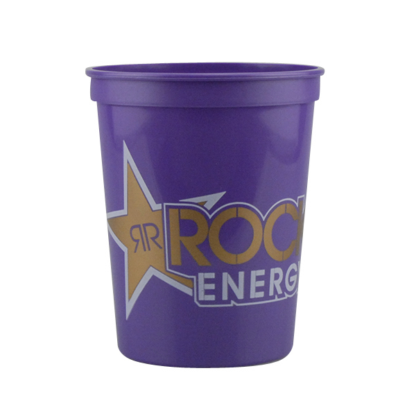 16 oz. Stadium Cup Purple