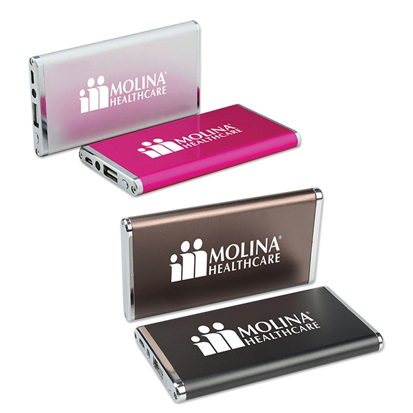 Rechargeable 3,000mAh Ultra Slim Power Bank(Full Color)