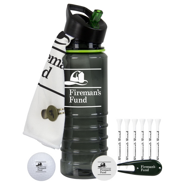 Birdie Golf Kit with Wilson Staff Duo Golf Ball