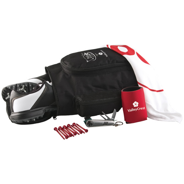 Deluxe Shoe Bag Kit w/ Nike NDX Heat Golf Ball