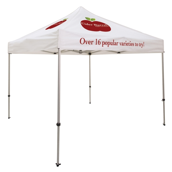Ultimate 10 x 10 Event Tent Kit (Full-Color,3 Location)