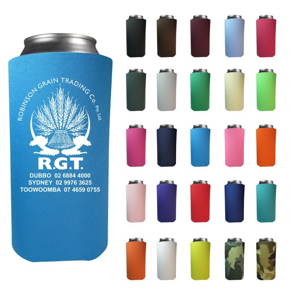 16 oz. Tall Boy Can Cooler (Screen Printed)