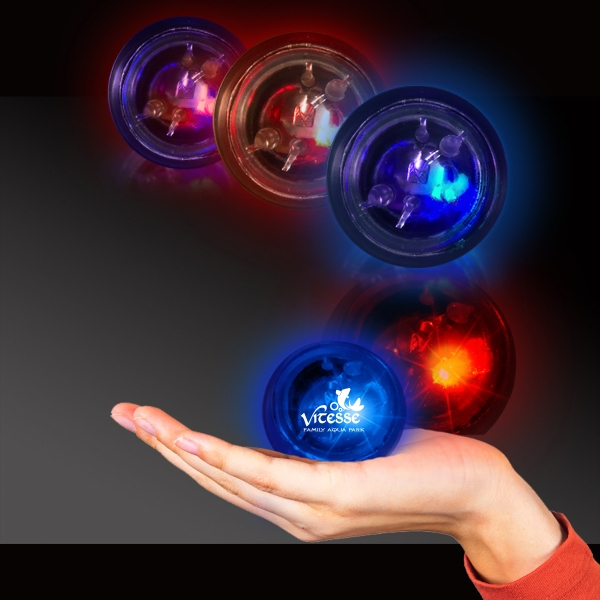 Light Up LED Flashballs - 1 7/8 Inch
