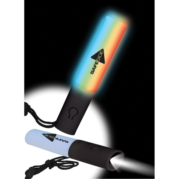 Mini 2-in-1 LED Lighted Wand & Flashlight with Lanyard