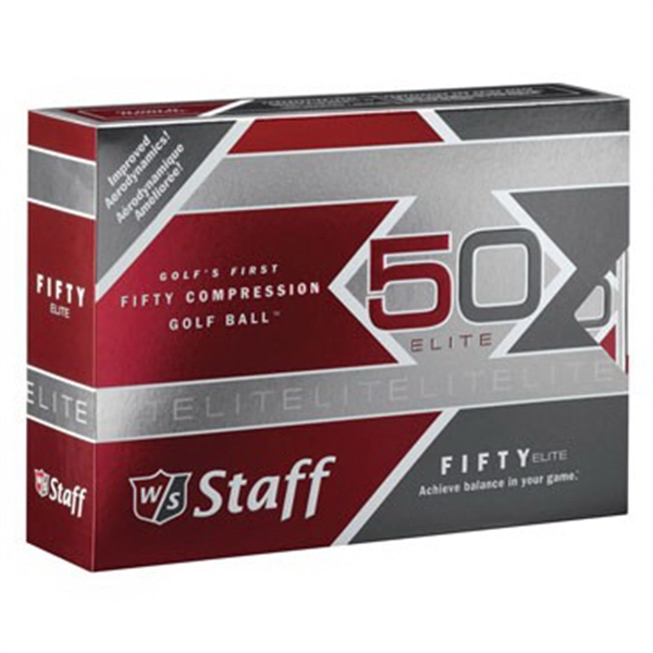 Wilson Staff 50 Elite Golf Ball (Factory Direct)