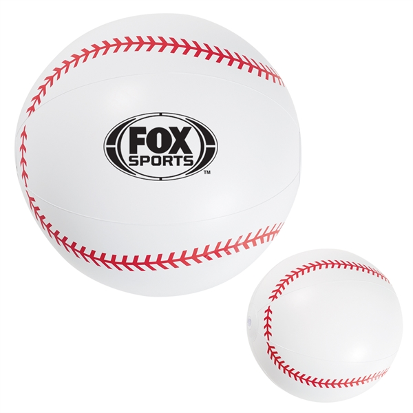 "16"" Baseball Beach Ball"