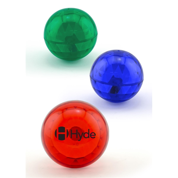 Lighted Air Bounce Ball with Blue/Red LEDs