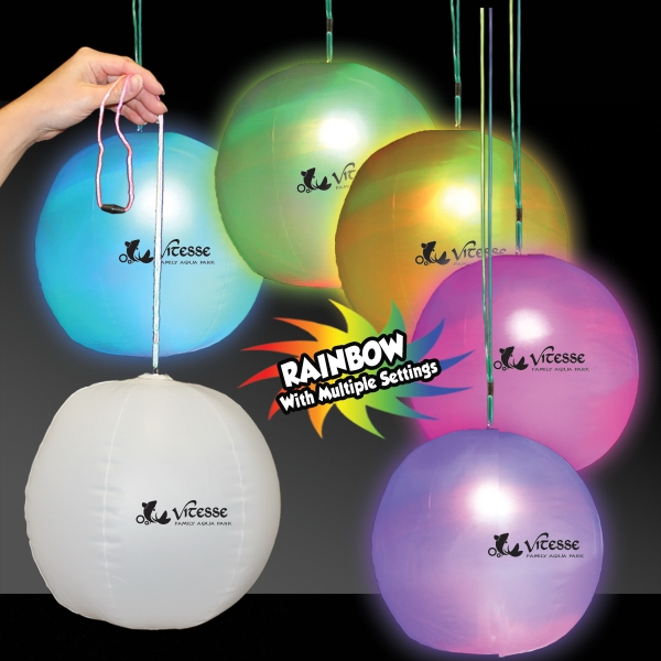 Light Up LED Glow Beach Ball Decoration