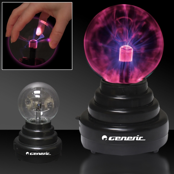 "6"" Laser Static Light Up LED Glow Ball Lamp Decoration"