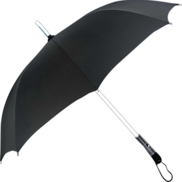 LED Lighted Shaft Umbrella With 3 Lighted Modes