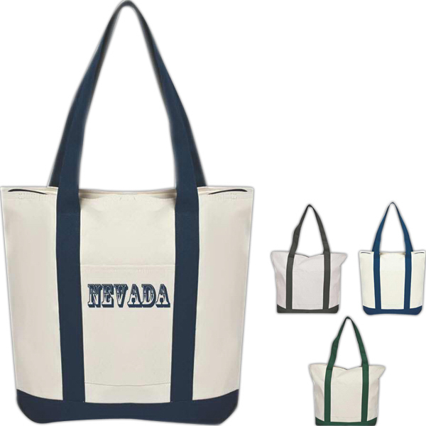 12 oz. Canvas Heavy Duty Tote