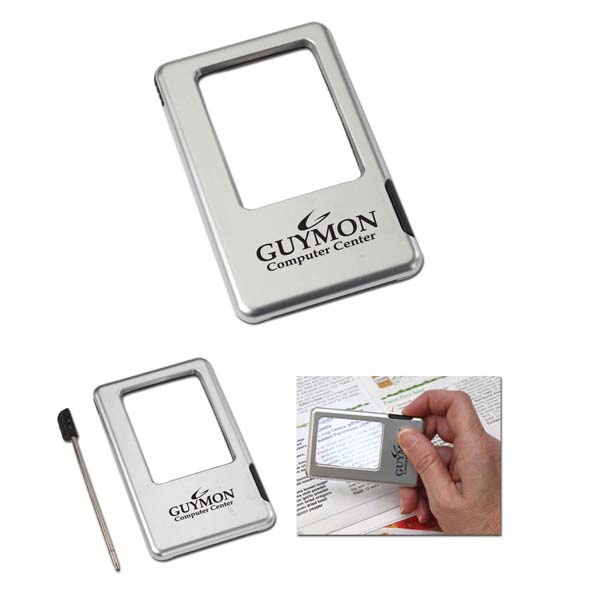 Lighted Magnifying Glass & Pen