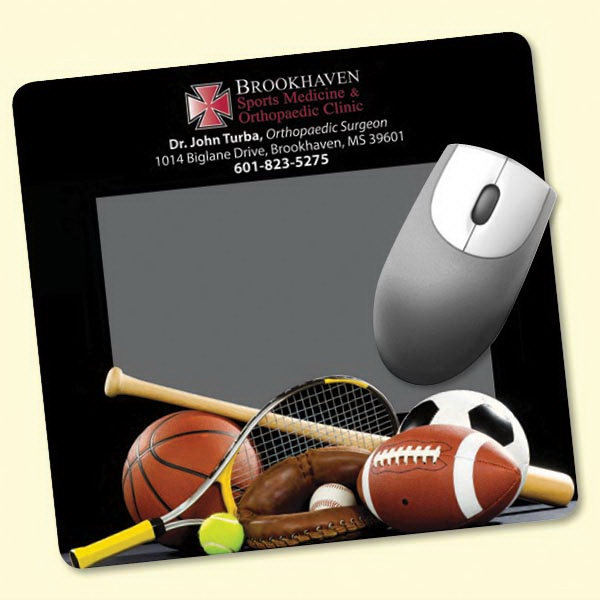 "Frame-It Flex(R) 7.5""x8""x1/8"" Window/Photo Mouse Pad"