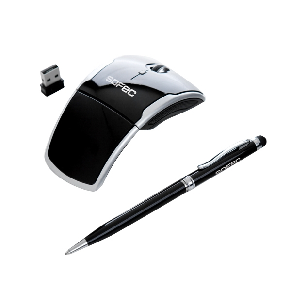 Wireless mouse with stylus pen gift set