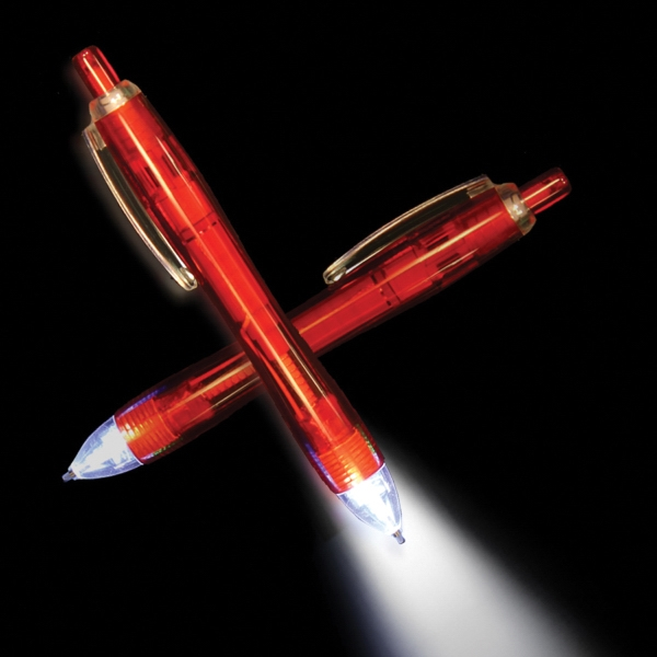 Red Ultimate Lighted LED Glow Pen