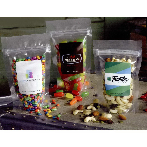 Stand-up Resealable Pouch with Candy Fill