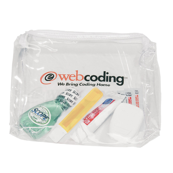 Deluxe Dental Kit in a Promotional Bag