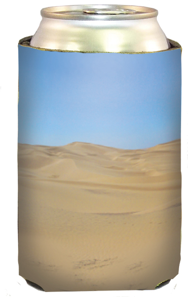 Sand Dunes Collapsible beverage insulator can holder