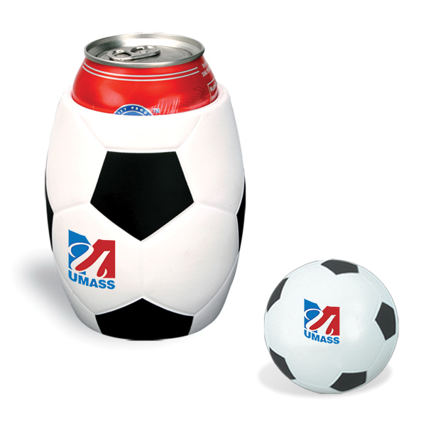 Soccer Ball in Can Holder Combo